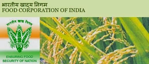 Latest Food Corporation of India (FCI) Recruitment Notifications 2015