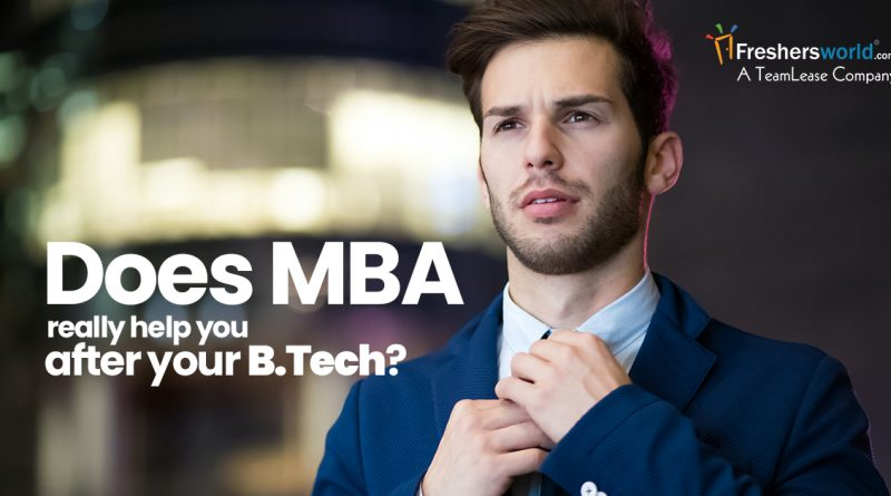 does mba helps?